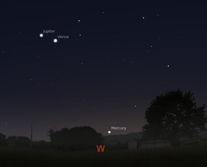 planets in the sky tonight - photo #16