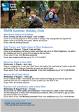 Summer Holiday fun with the RSPB in Somerset