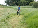 Getting Exminster Marsh ready for the winter wildfowl