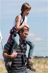 Isabel and her dad at RSPB Rainham Marshes