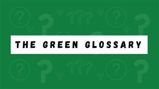 Green Glossary Title