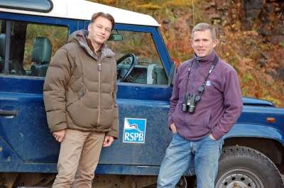 Chris Packham and Dave Sexton
