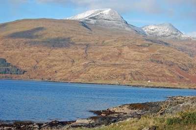 Ben More overlooking Loch Scridain