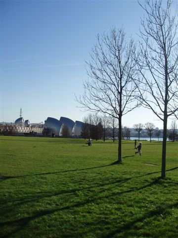 Thames Barrier Park - a much loved green space