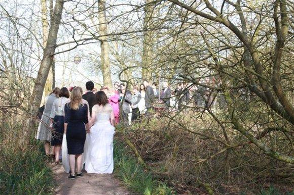 wedding on friday 5 october leighton moss leighton