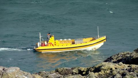 Venturejet boat Shearwater