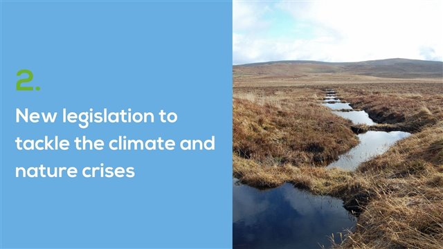 2.	New legislation to tackle the climate and nature crises