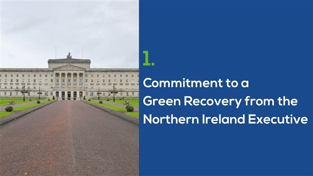 Stormont - Commitment to a Green Recovery from the Northern Ireland Executive