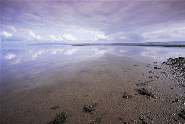 Lough Foyle with cloud reflections by Andy Hay